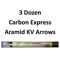 "3 Doz. Aramid KV Arrow with 2"" vanes"