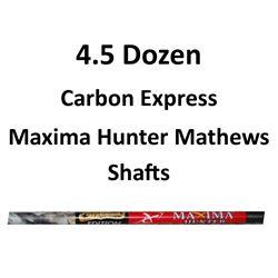4.5 Doz. Maxima Hunter Shafts