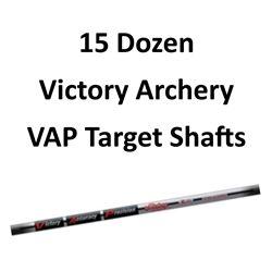 15 Doz. VAP Target V6 900 Shafts