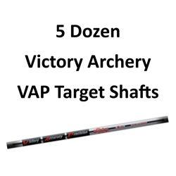 5 Doz. VAP Target V6 1000 Shafts