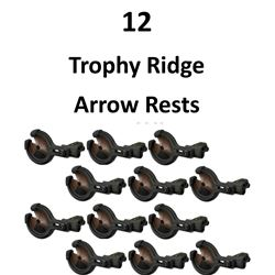 12 x Trophy Ridge Rests