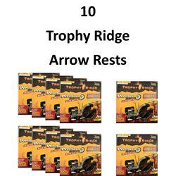 10 x Trophy Ridge Rests