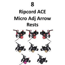 8 x Ripcord ACE Micro Adj Rests