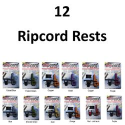 12 x Ripcord Rests