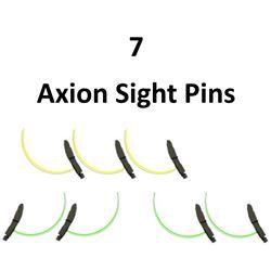 7 x Axion Sight Pins