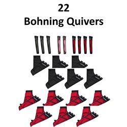 22 x Bohning Quivers