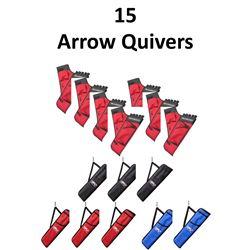 15 x Arrow Quivers