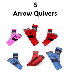 6 x Arrow Quivers