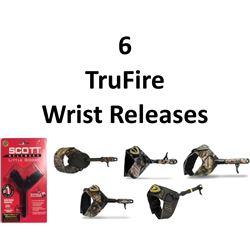 6 x Wrist Releases
