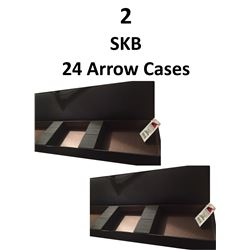 2 x Lakewood 24 Arrow Cases