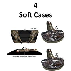 4 x Bow Cases