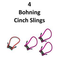 4 x Bohning Cinch Slings
