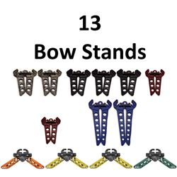 13 x Bow Stands