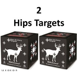 2 x Hips Whitetail Targets