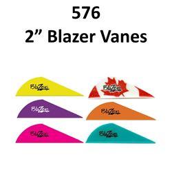 "16 x 2"" Blazer Vanes 36/pk"