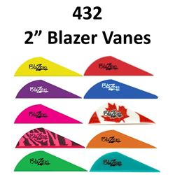 "12 x 2"" Blazer Vanes 36/pk"