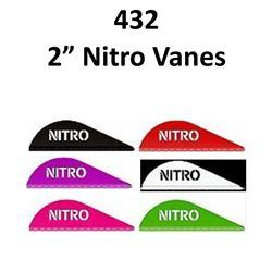 """12 x Pine Ridge 2"""" Nitro Vanes 36/pk"""