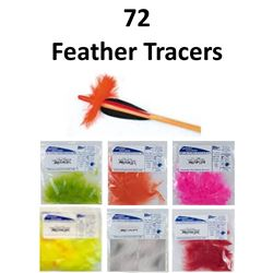 6 x Feather Tracers 12/pk