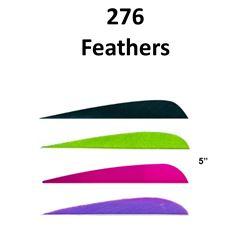 """276 - 5"""" Parabolic Feathers"""