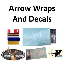 6 x Arrow Wraps & 4 x Decals