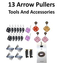 24 x Arrow Pullers & Tools