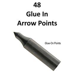 4 x Doz. 125 Gr Glue On Field Points