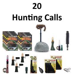 20 x Hunting Calls & 1 Lanyard
