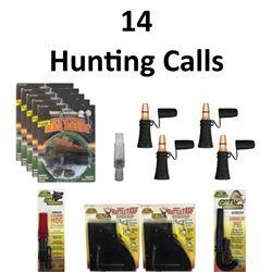 14 x Hunting Calls