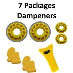 7 x Mathews Dampener
