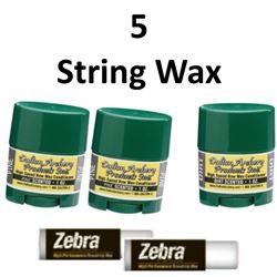 5 x Bow Wax