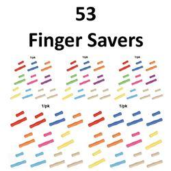 53 x Finger Savers