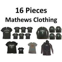 16 x Mathews Clothing