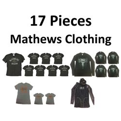 17 x Mathews Clothing