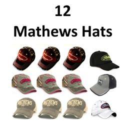 12 x Mathews Hats