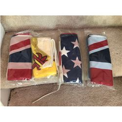 GR OF 5, VARIOUS FLAGS - AS NEW