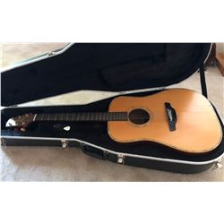 TAKAMINE MODEL EN-18 ACOUSTIC - ELECTRIC  GUITAR WITH CASE