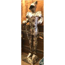 "DECORATIVE SUIT OF ARMOUR - 6' 6"""