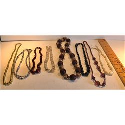 GR OF 8 COSTUME JEWELRY NECKLACES