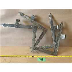 ANTIQUE HAND FORGED DOOR HARDWARE
