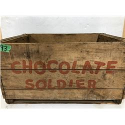 CHOCOLATE SOLDIER CRATE