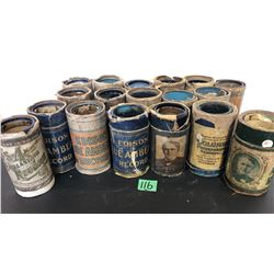 SELECTION OF EDISON PHONOGRAPH ROLLS