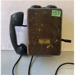 NORTHERN ELECTRIC WALL MOUNT TELEPHONE