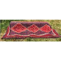 """56"""" X 110"""" HAND KNOTTED RUG - NATIVE MOTIF"""
