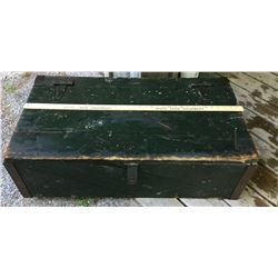 "WOODEN STORAGE BOX - 11"" X 19"" X 36"""