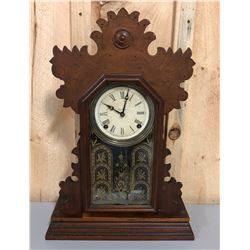 INGRAM & CO. MANTLE CLOCK WITH KEYS