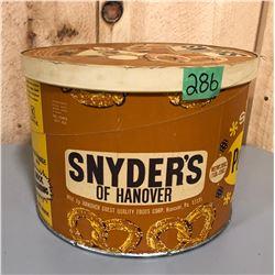 SNYDER'S PRETZELS SNACK PACK BOX