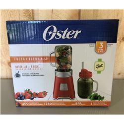OSTER MASON JAR BLENDER - NEW