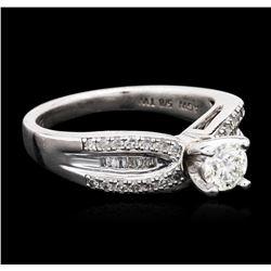 Silver 0.75 ctw Diamond Ring