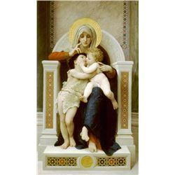 William Bouguereau - Vierge Jesus Saint Jean Baptiste 1875