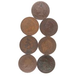 7 Better Date INDIAN HEAD CENT LOT See List